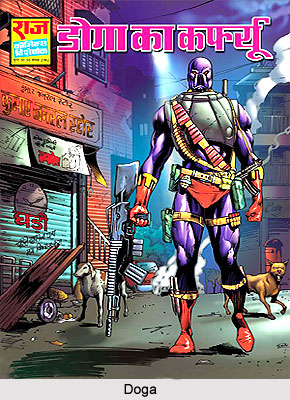Doga_Characters_in_Indian_Comics_Series