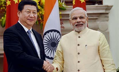 Modi-in-China