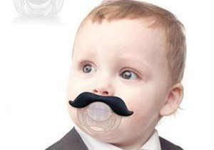 New-2014-Safe-Quality-Baby-Products-Creative-Mustache-Style-Infant-Pacifier-Funny-Cute-Baby-Pacifier