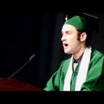 Awesome speech by a graduating student