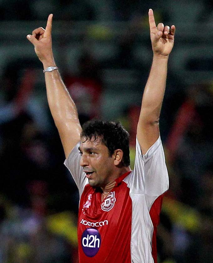 CSK vs KXIP in IPL-5