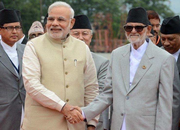 NEPAL-INDIA-DIPLOMACY